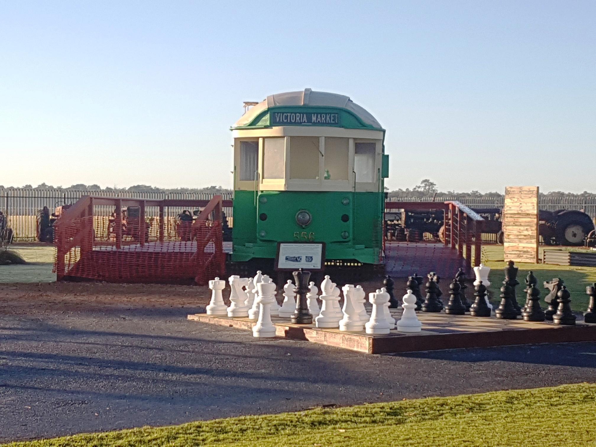 Tram & chess 1