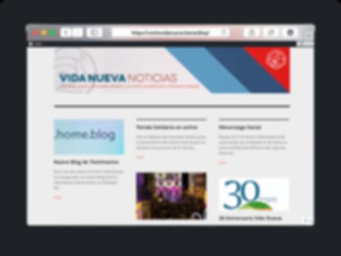 Noticias del centro Vida Nueva en Navarra