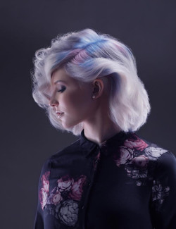 Color Hair shot