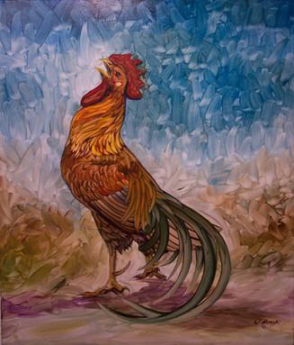 """""""Proud as a Peacock"""" by Joni Hamari"""
