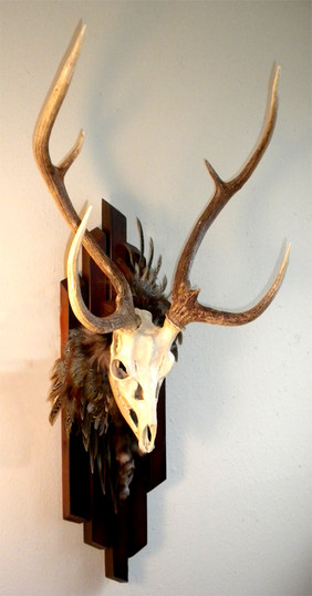 Embellished Axis deer by Joni Hamari