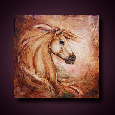 """Tuscan Horse"" by Joni Hamari"