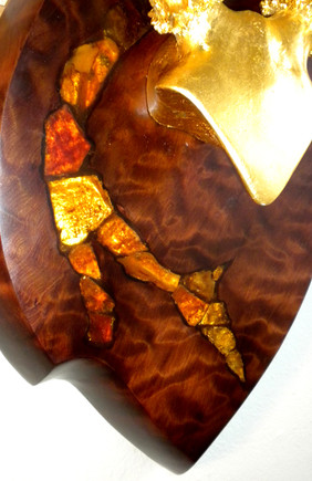 """""""Crowning Glory"""" detail, by Joni Hamari"""