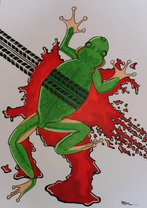 Paf la grenouille