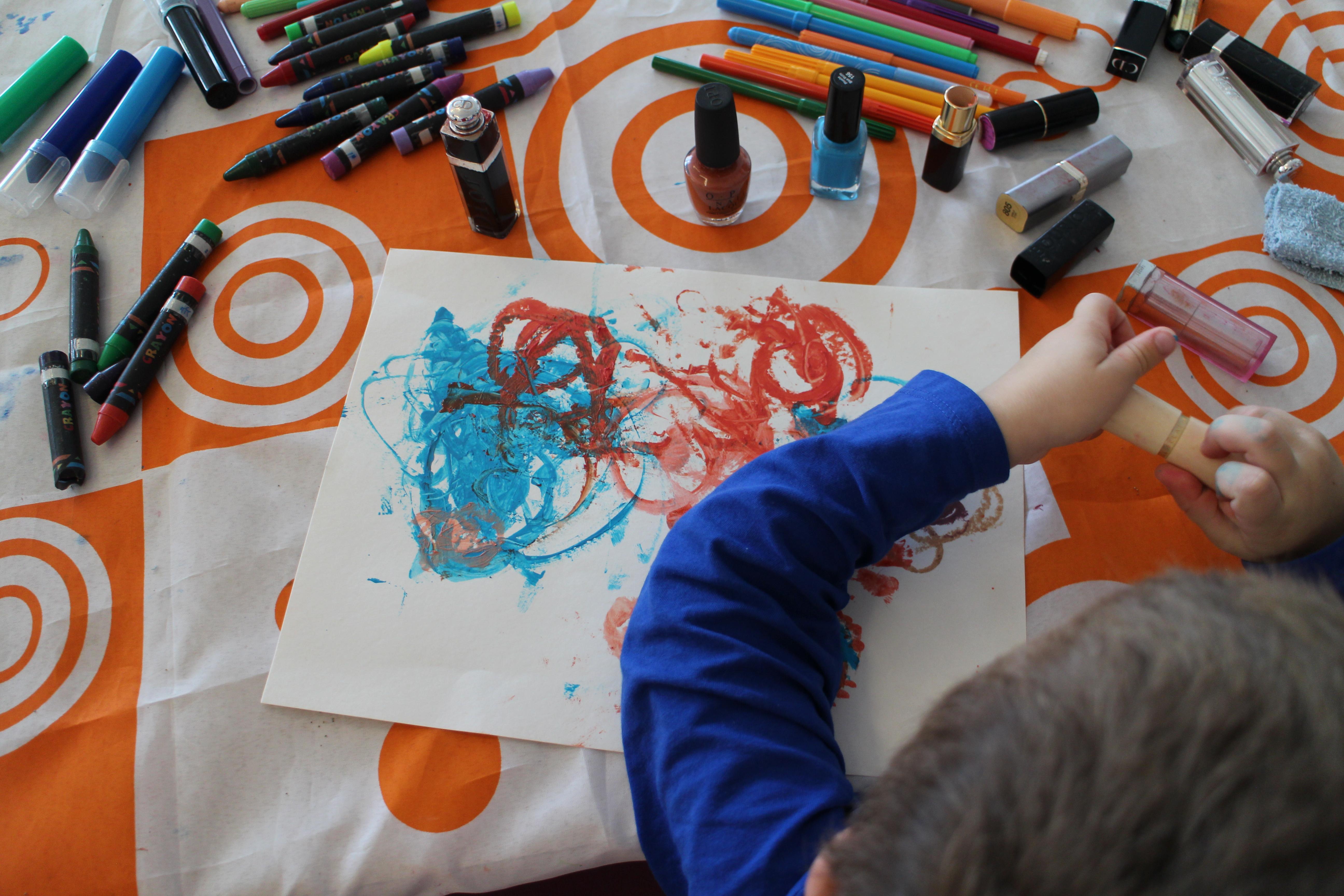 Atelier art plastique pour les enfants hospitalisés