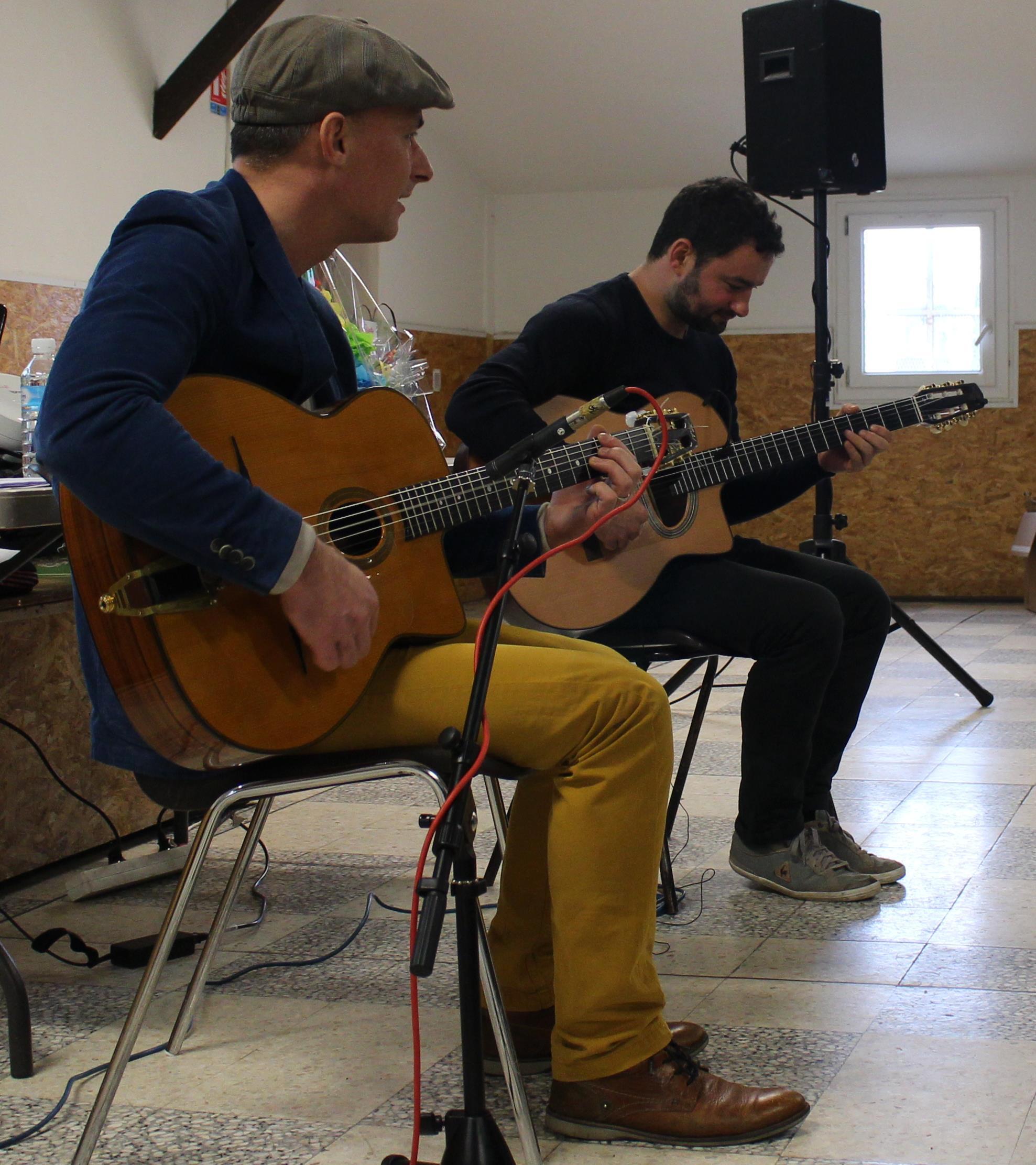 Loto concert avec César Swing