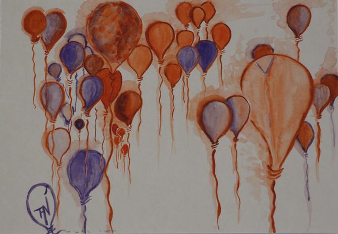 « Burbujas del cielo »