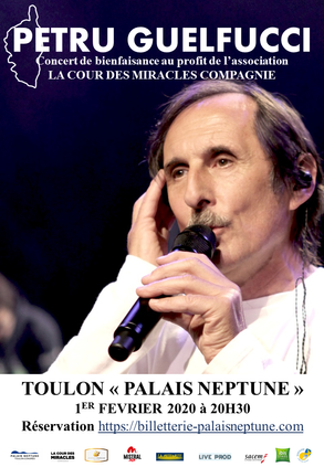 Concert de Petru Guelfucci au profit de notre association