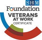 SHRM Foundation_Veterans at Work_Certifi