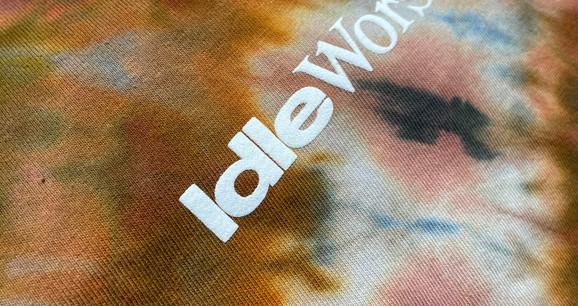 Idle worship Dyed tees