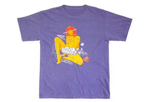 Bang Brehs purple tee