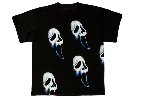 Ghost Face all over print Tee
