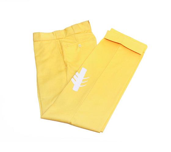 Yellow Pastel Pants
