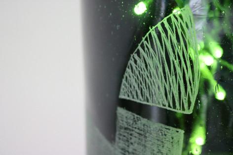 Svítící objekt /detail/