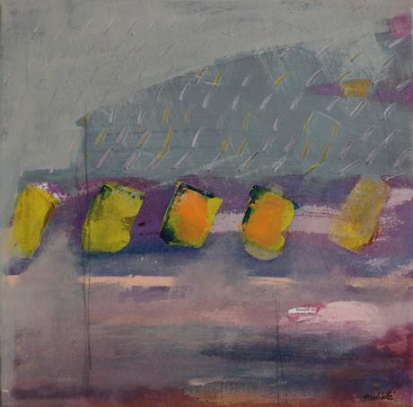 Brzy z rána (z cyklu Město), 40x40cm, akryl na plátně, 2016, 320Eur.jpg
