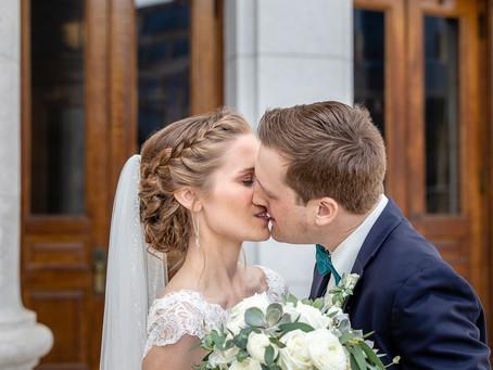 Sarah and Brad Wedding @ Union South