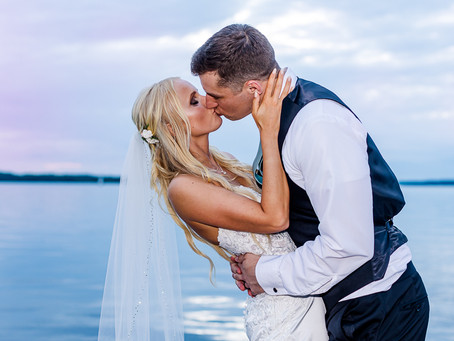Not Even a Rainy Day Could Dampen Cierra and Danny's Edgewater Hotel Wedding