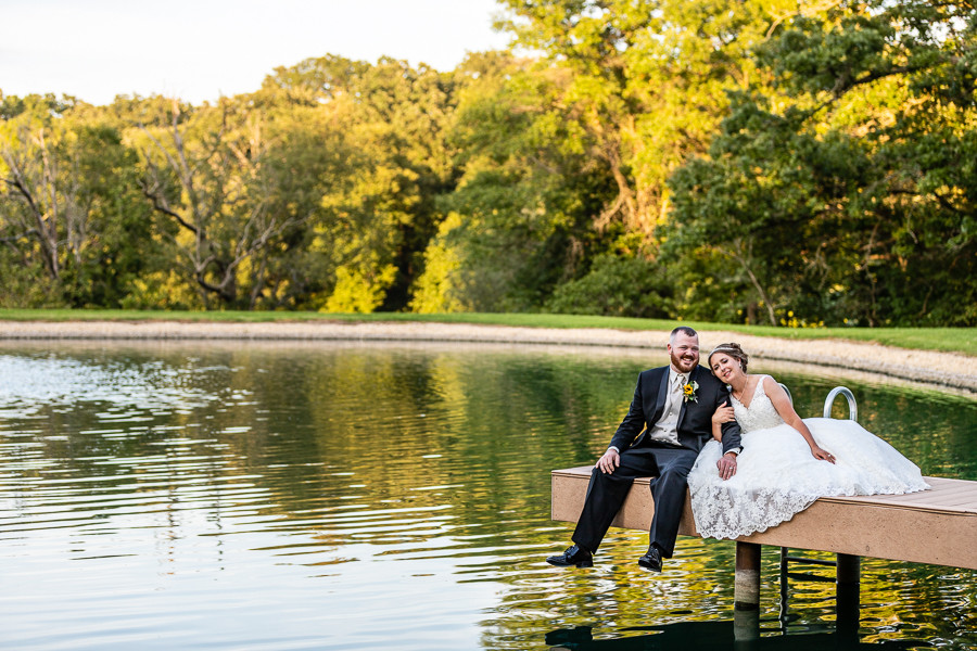 Quiet Wedding Moment - Sable Park Photography