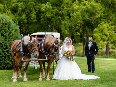 Stacy and Ted's Beautiful Wedding @ Oak Hill Farm