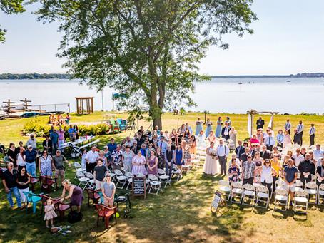 Lake Monona Summertime Wedding