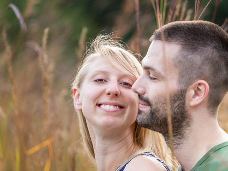Christine and Jason's Rustic Engagement Session
