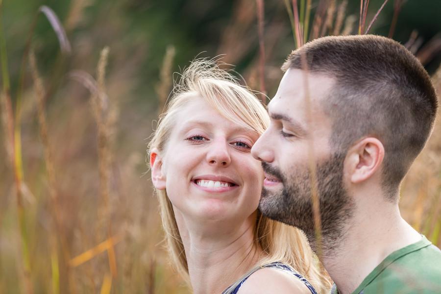 UW Arboretum engagement session - sable park photography