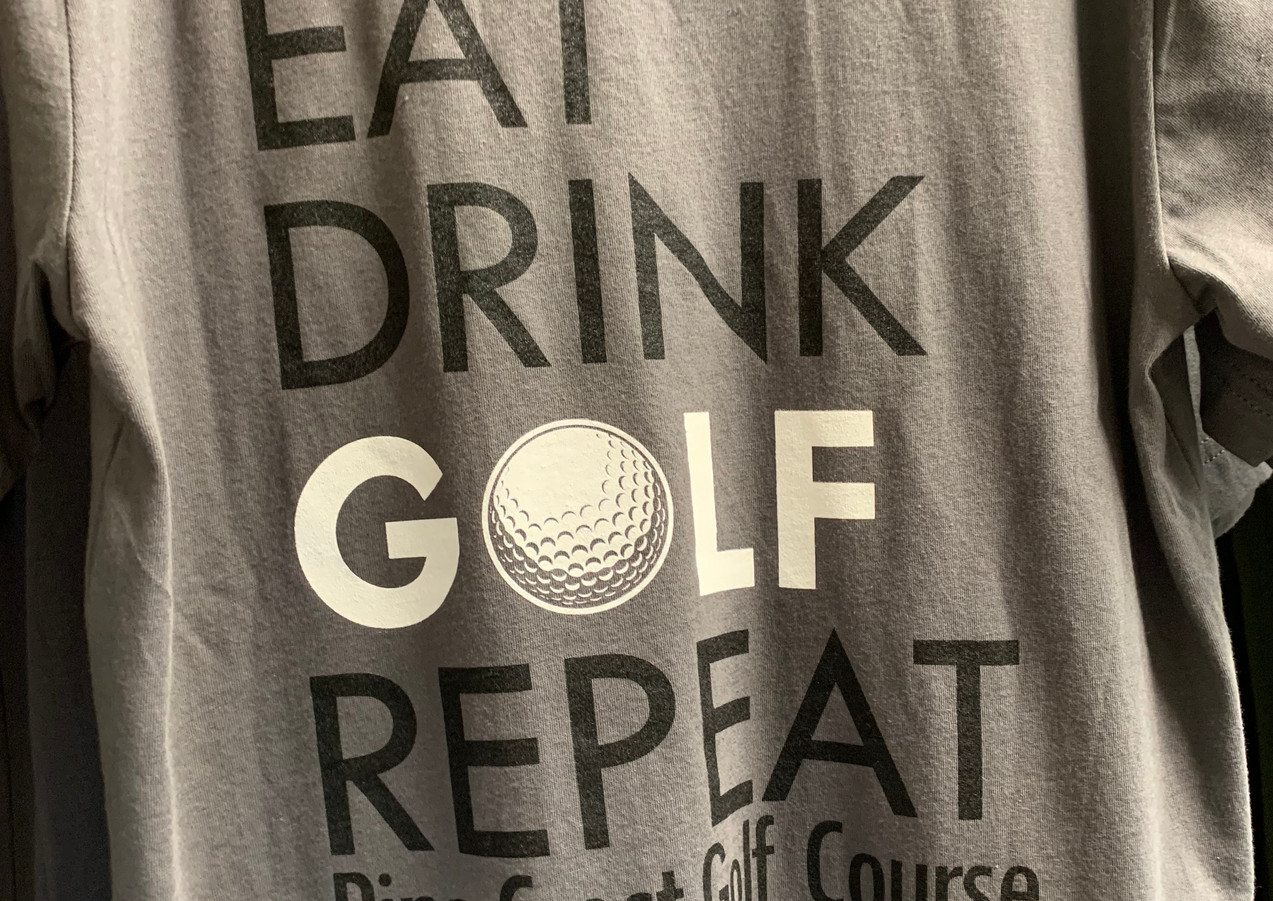 Eat Drink Golf Repeat Shirt