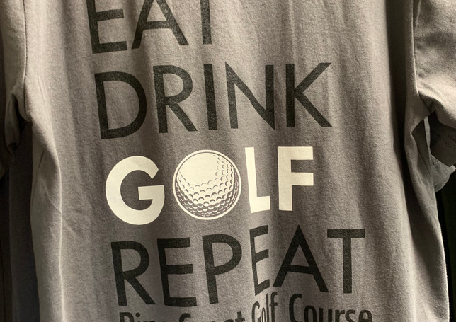 Eat Drink Golf Repeat Shirt