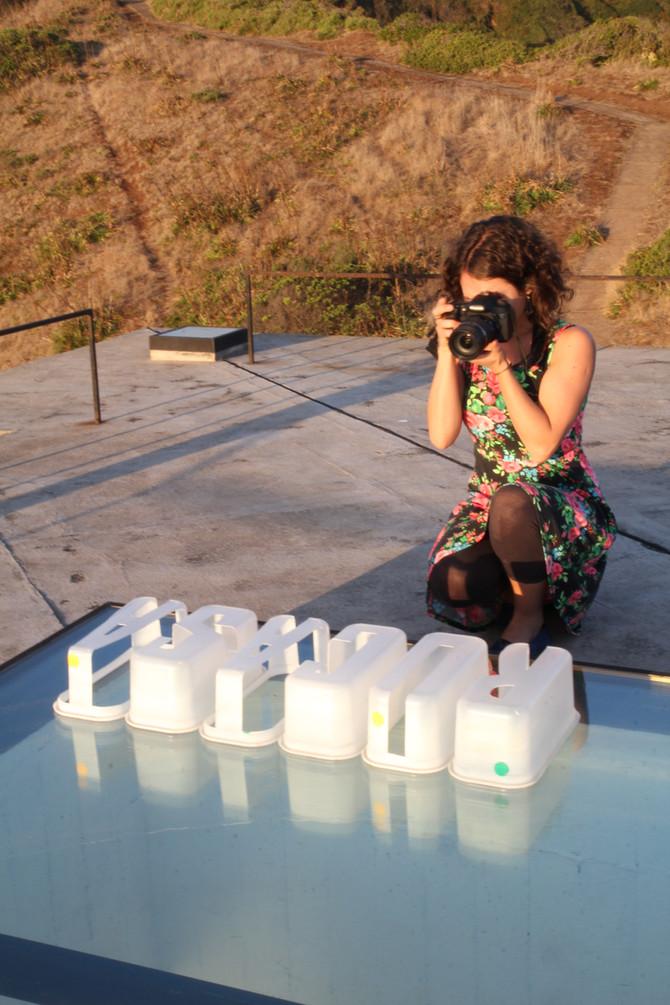 Visual artist Javiera Ovalle Sazie invited to collaborate with Triangular at Casa Poli