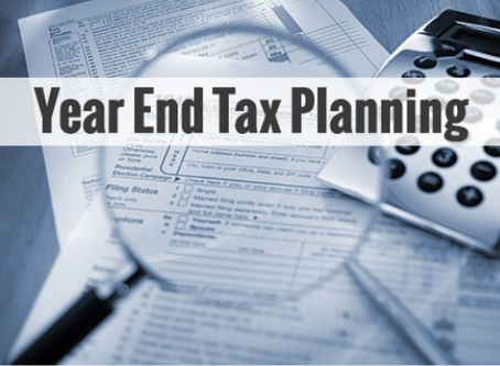 Year-End Tax Planning Series Part 1: Important Tax Savings Strategies to Consider