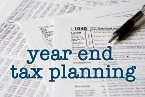 2020 YE Tax Planning Strategies