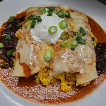 Teeve's Chicken Enchiladas