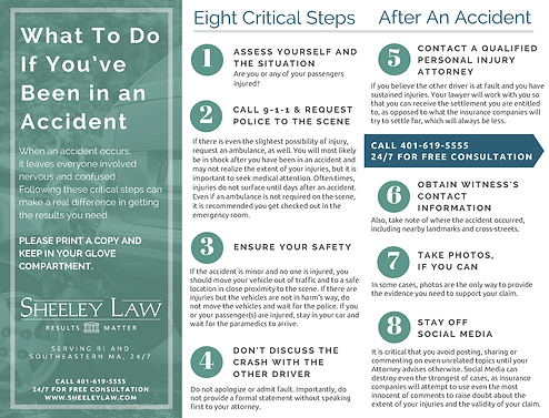 8 Critical Steps After You've Been in an