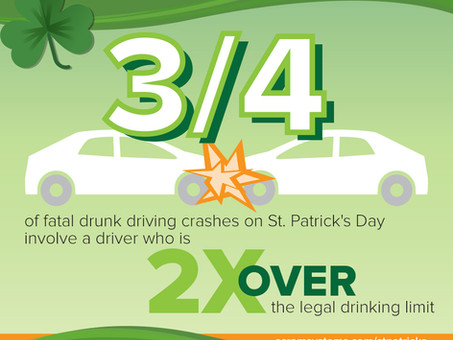 There's More Than One Reason to Stay Safe This St. Patrick's Day