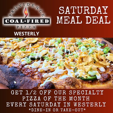 PCFP Westerly Saturday Meal Deal Graphic