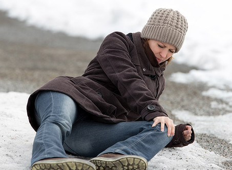 What You Need to Know About Slip & Fall Accidents This Winter