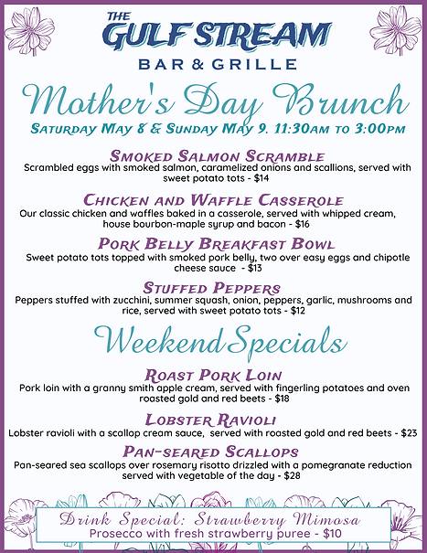 Gulf Stream Mother's Day Brunch and Spec