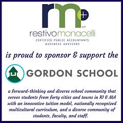 _Restivo Moncelli_Gordon School Sponsor