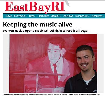 Rob Coyne School of Music EducationEastBayRI