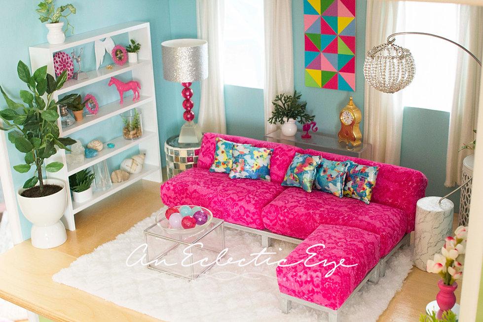 an-eclectic-eye-diy | DIY dollhouse
