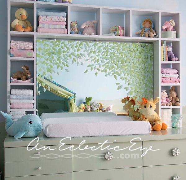 diy dresser shelf build painted mirror