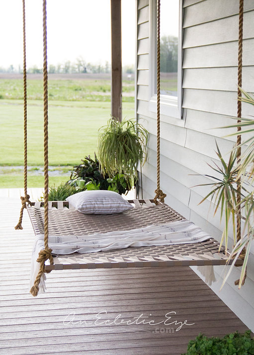 DIY Woven Hammock
