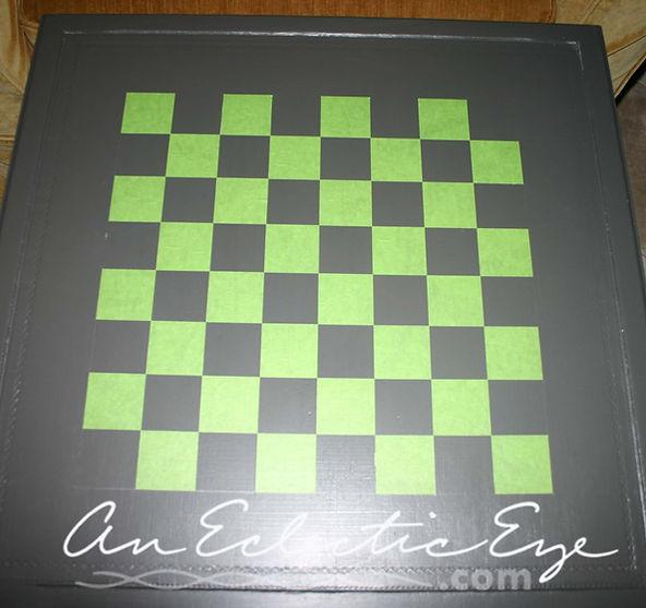 diy checkerboard table