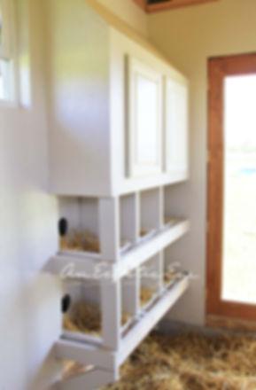 chicken coop nest boxes diy
