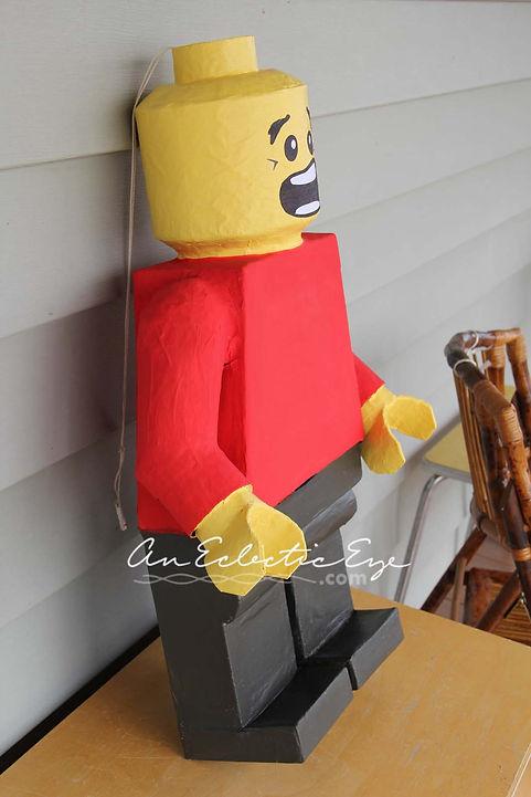 DIY lego minifig pinata