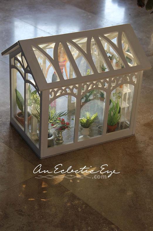 Barbie's greenhouse