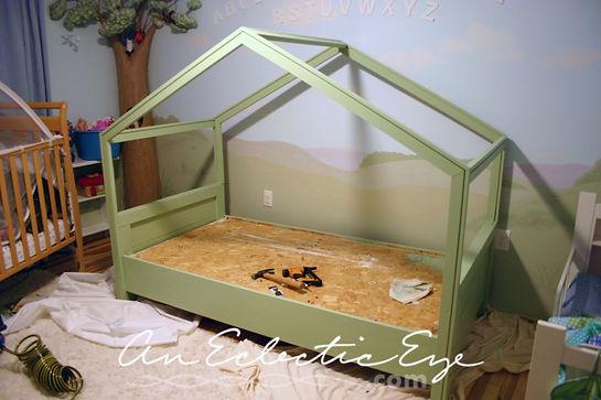 bed tent build