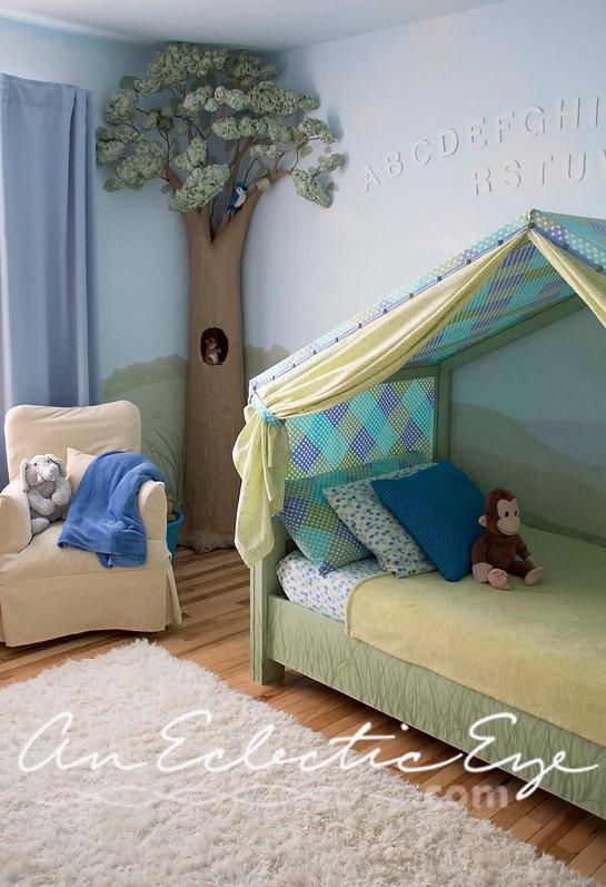 Bed tent DIY