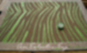 frogtape zebra rug