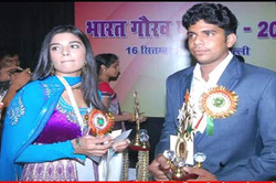 Bhunesh Saini with Miss Pooja Gaur